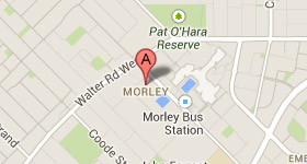 Map of Opticare Morley Address